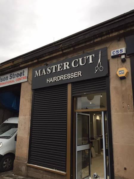 glasgow flat cut letters, 3d letters for shop, shop sign glasgow