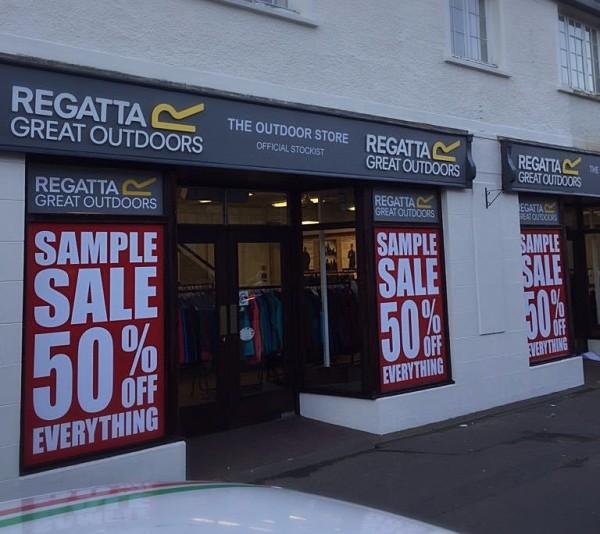 foam letters shop signs, glasgow cheap letters
