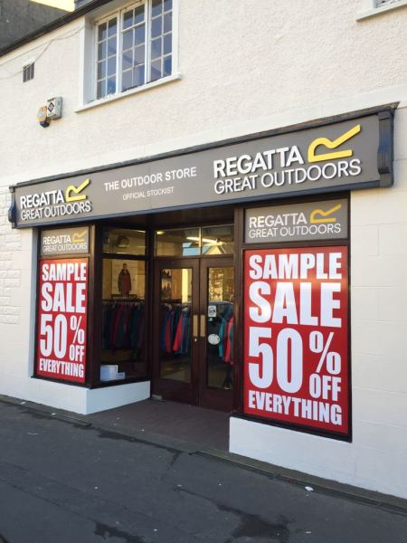 window graphics scotland, scotland foam shop letters cheap letters