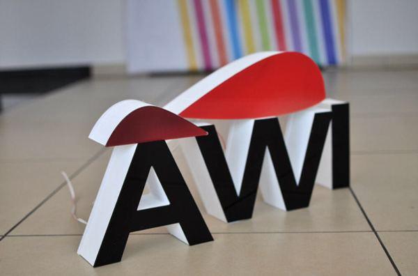 3D letters free standing glasgow, glasgow foam letters