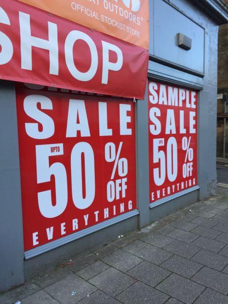 glasgow pvc banners, cheap banners glasgow, window stickers glasgow, glasgoiw window graphics