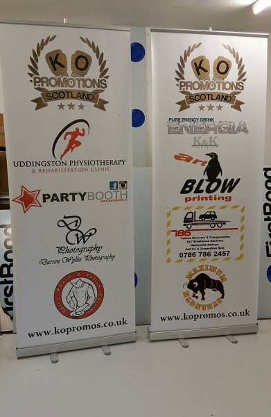 pop up banners, roller banners glasgow, exhibition banners glasgow
