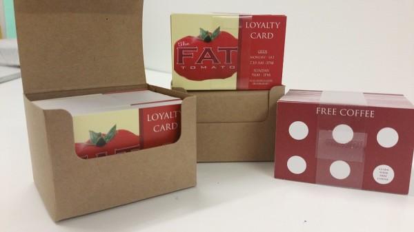 loyalty cards glasgow, glasgow cards, art blow printing loyalty cards