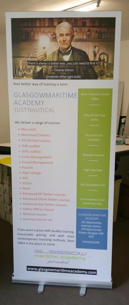 roller banners glasgow, glasgow pop up banners, exhibition displays glasgow