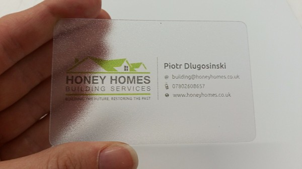 glasgow luxury business cards