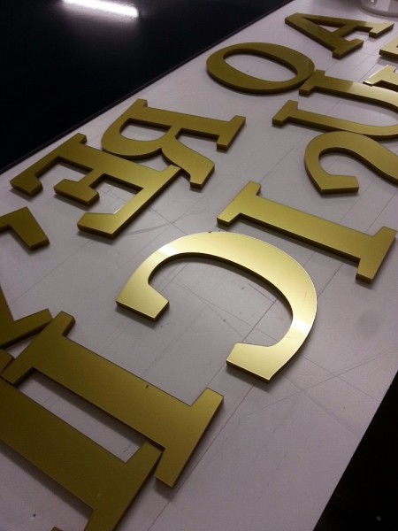 glasgow shop letters, letters for signs glasgow, 3d letters aignage