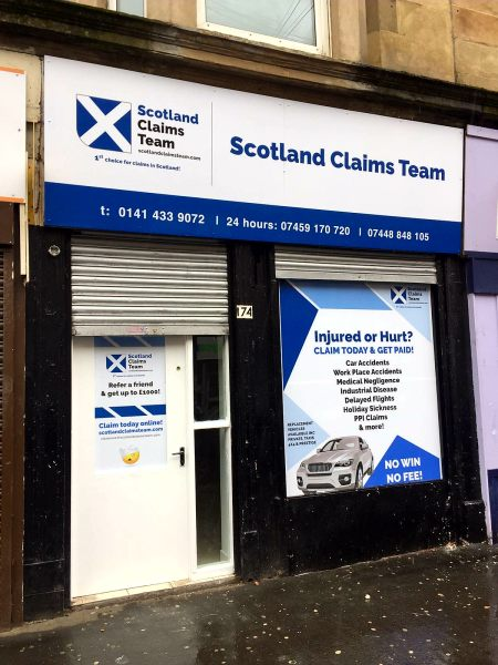 glasgow signs, window graphics glasgow