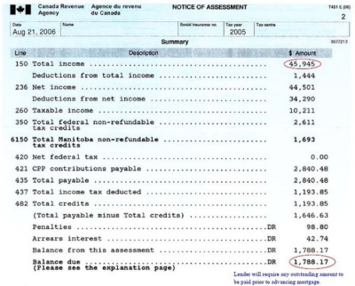cra notice of assessment pdf