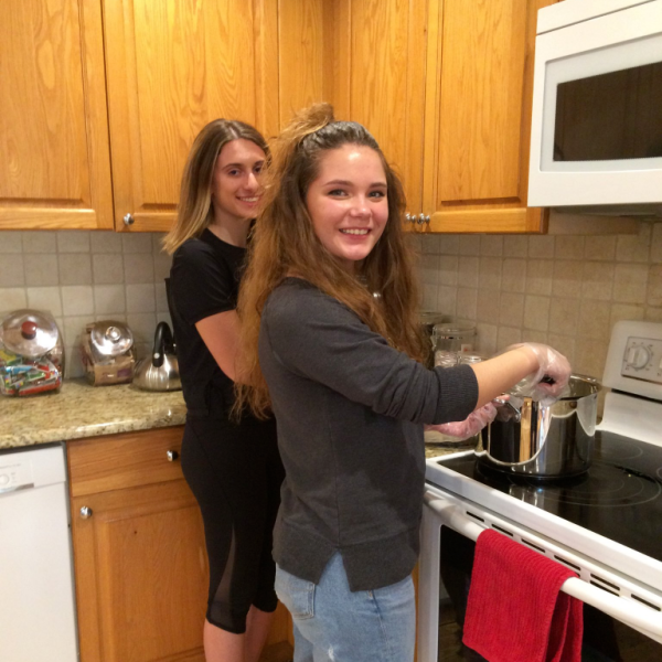 Members cook at Ronald McDonald House in Long Branch
