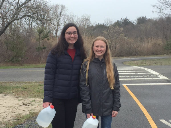 Students participate in MAST's Walk for Water!