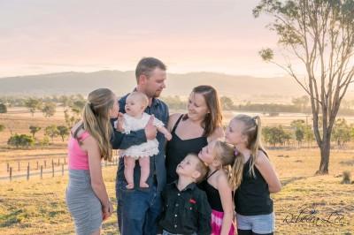 Sunset Family Session for Nikki