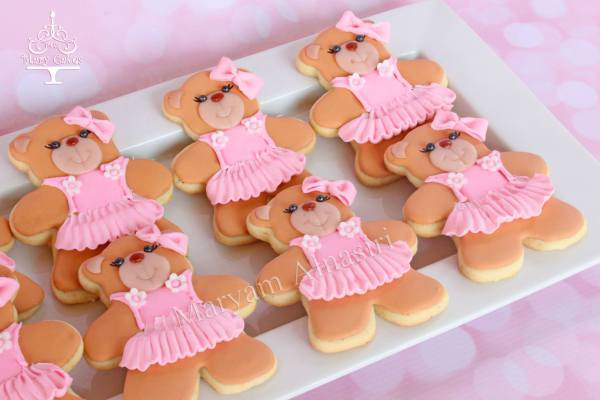 cutie teddy bears to match the cake