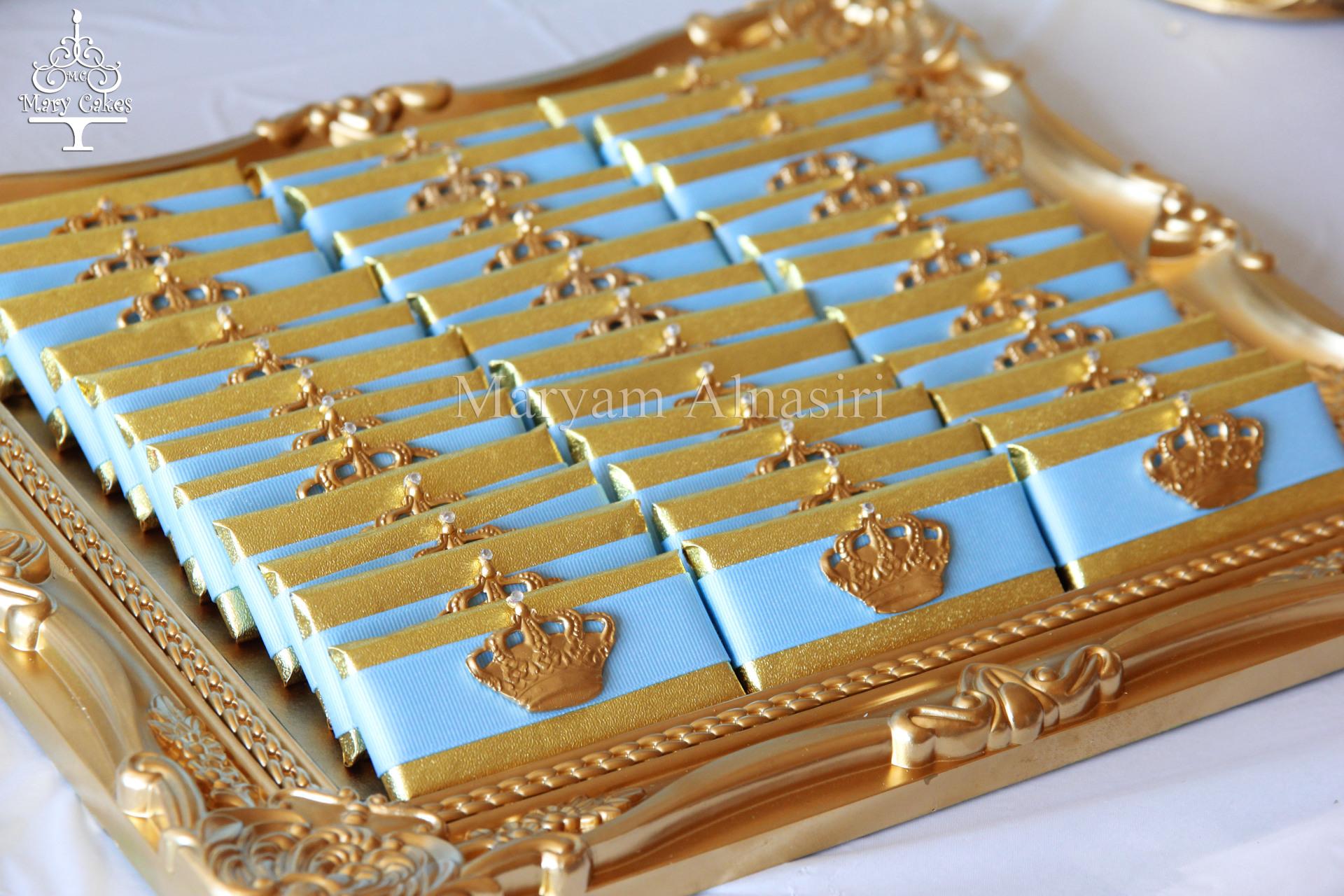 royal chocolate favors