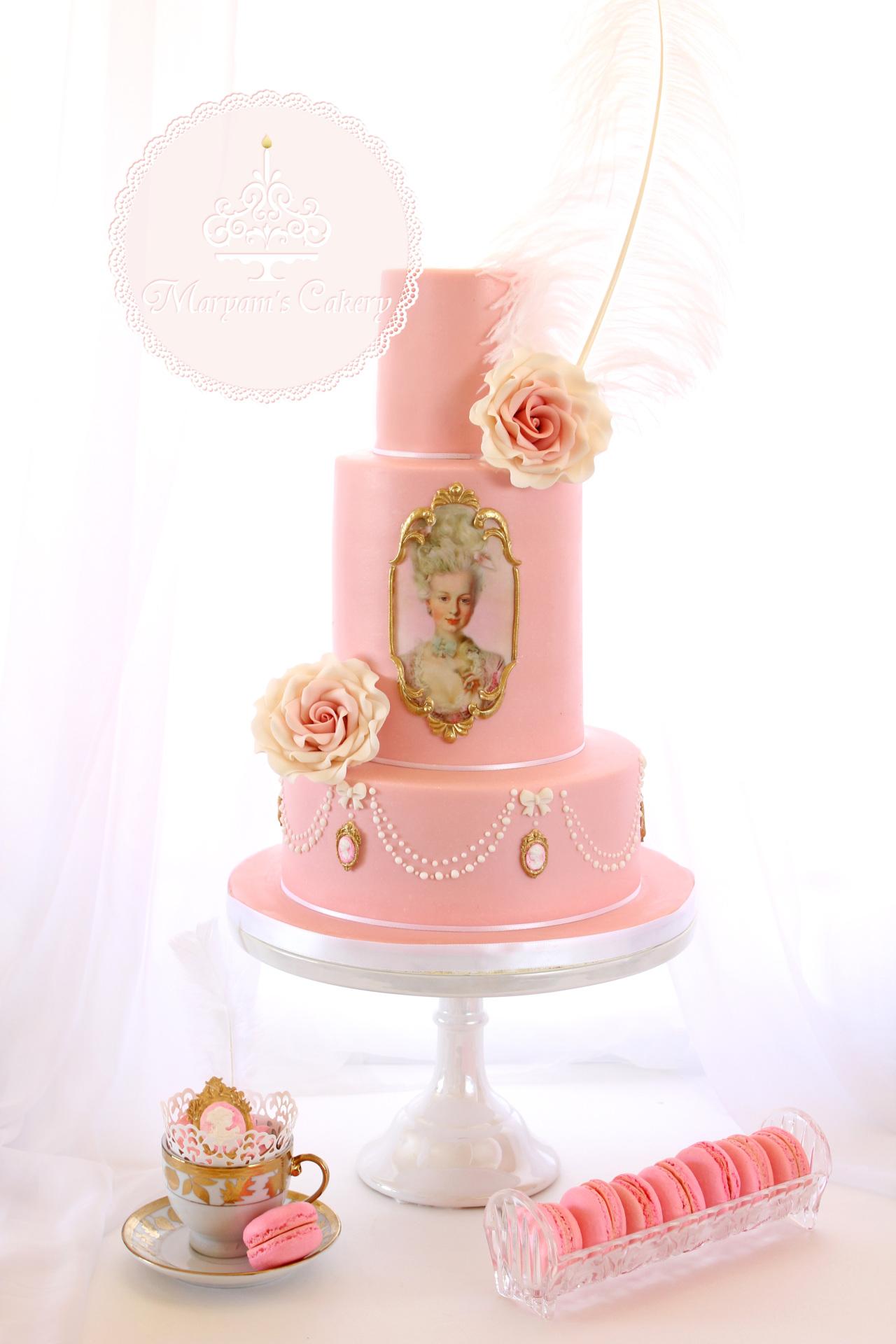Marie Antoinette theme