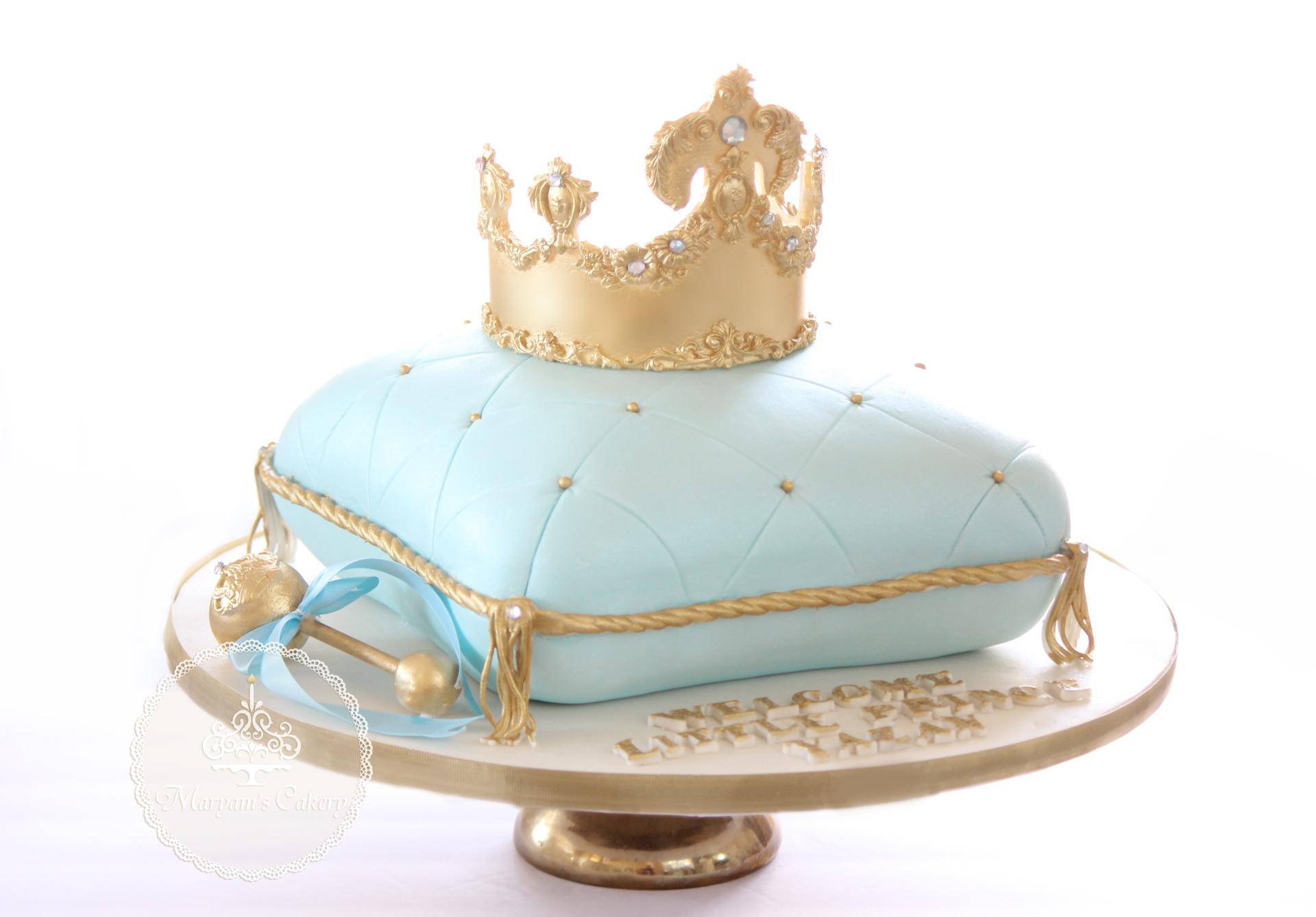 Royal theme baby shower