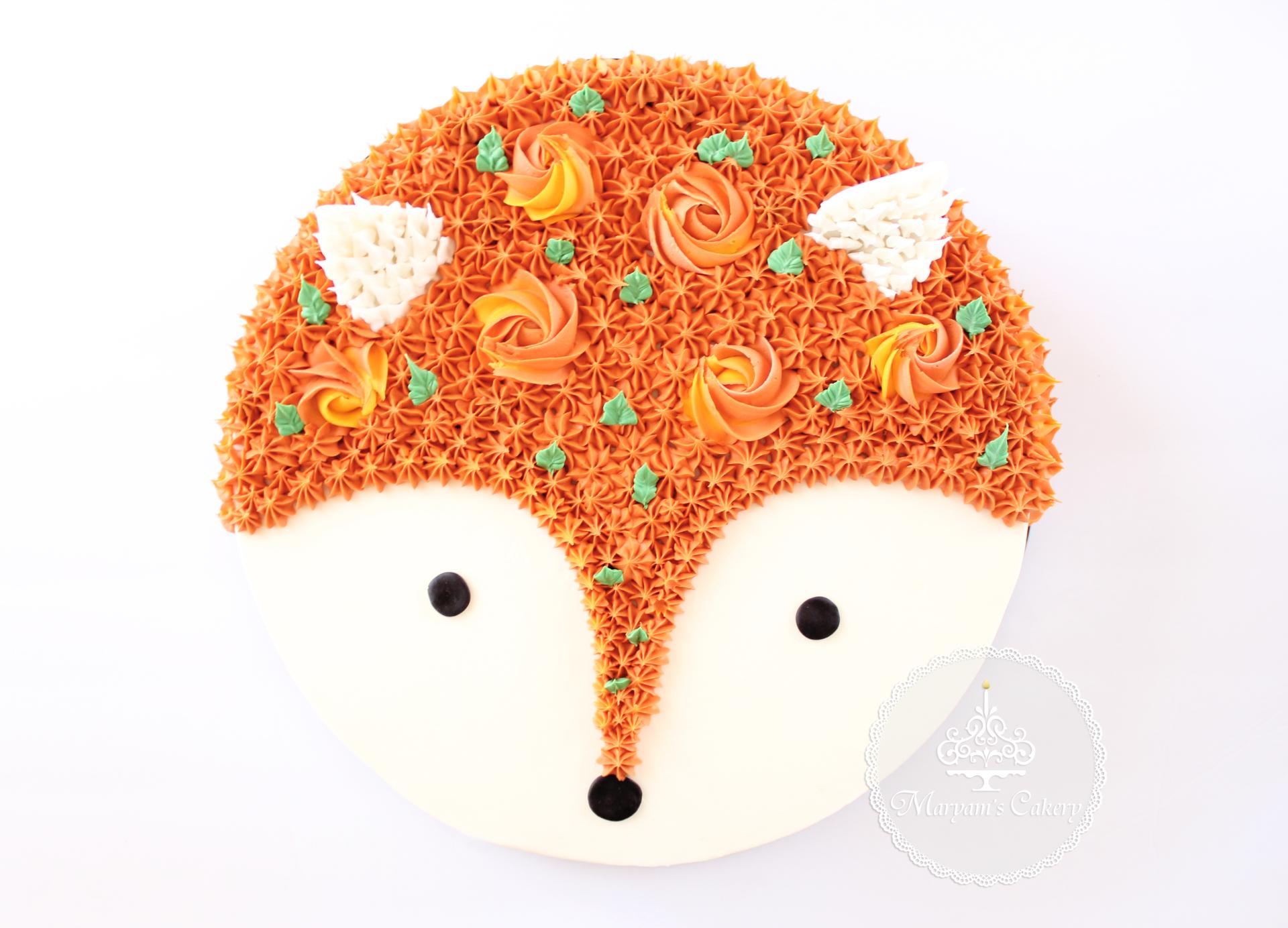 Fox baby shower theme
