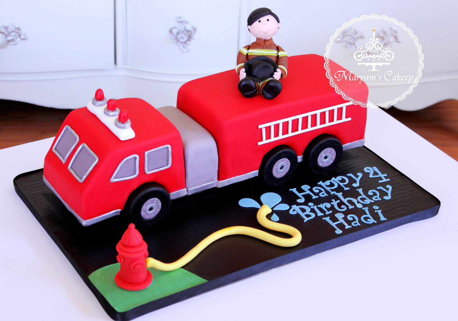 Fire truck theme