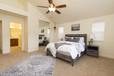 Master Bedroom Decor and Staging
