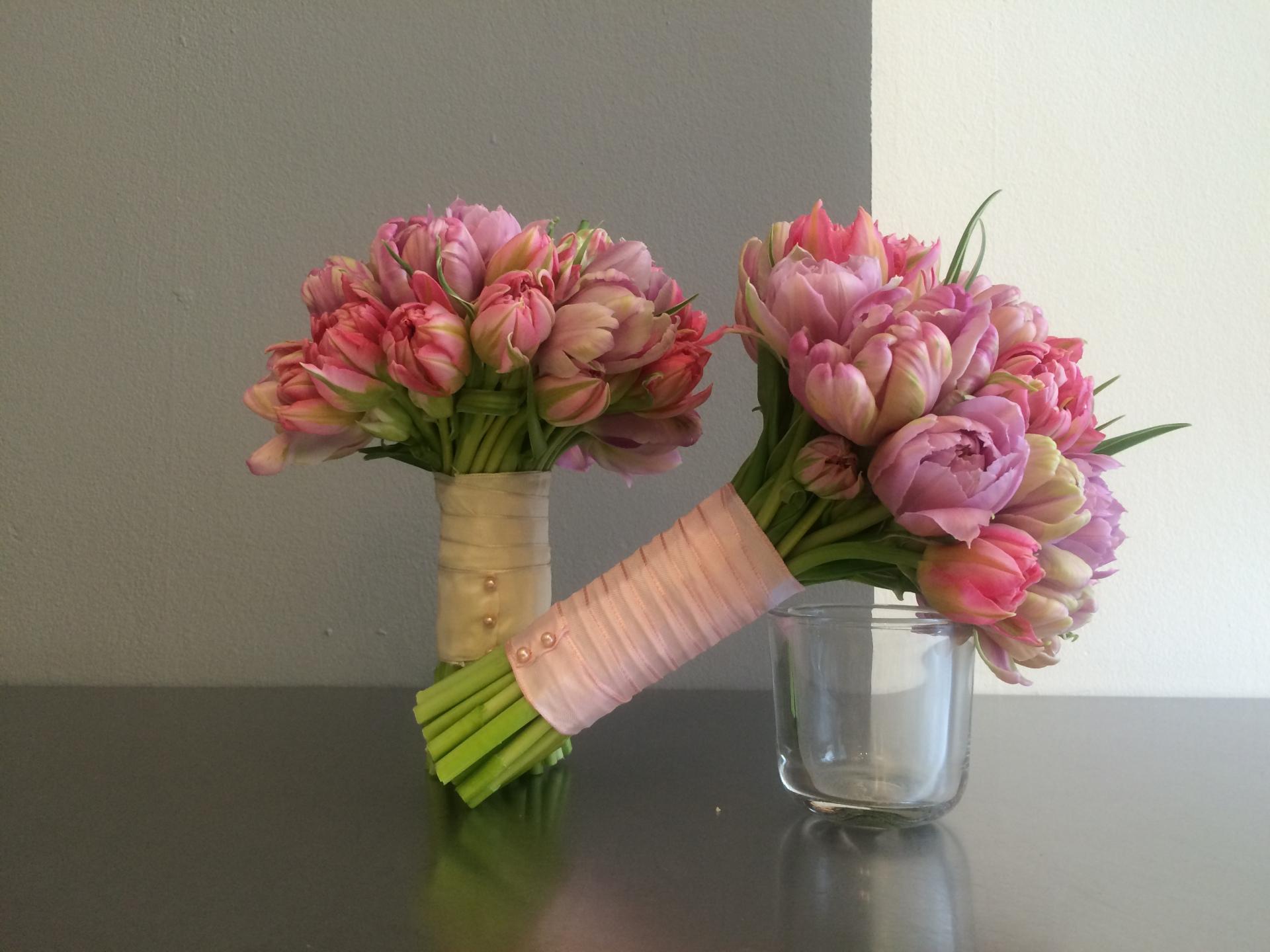 The St James' Park Bridesmaids' bouquets