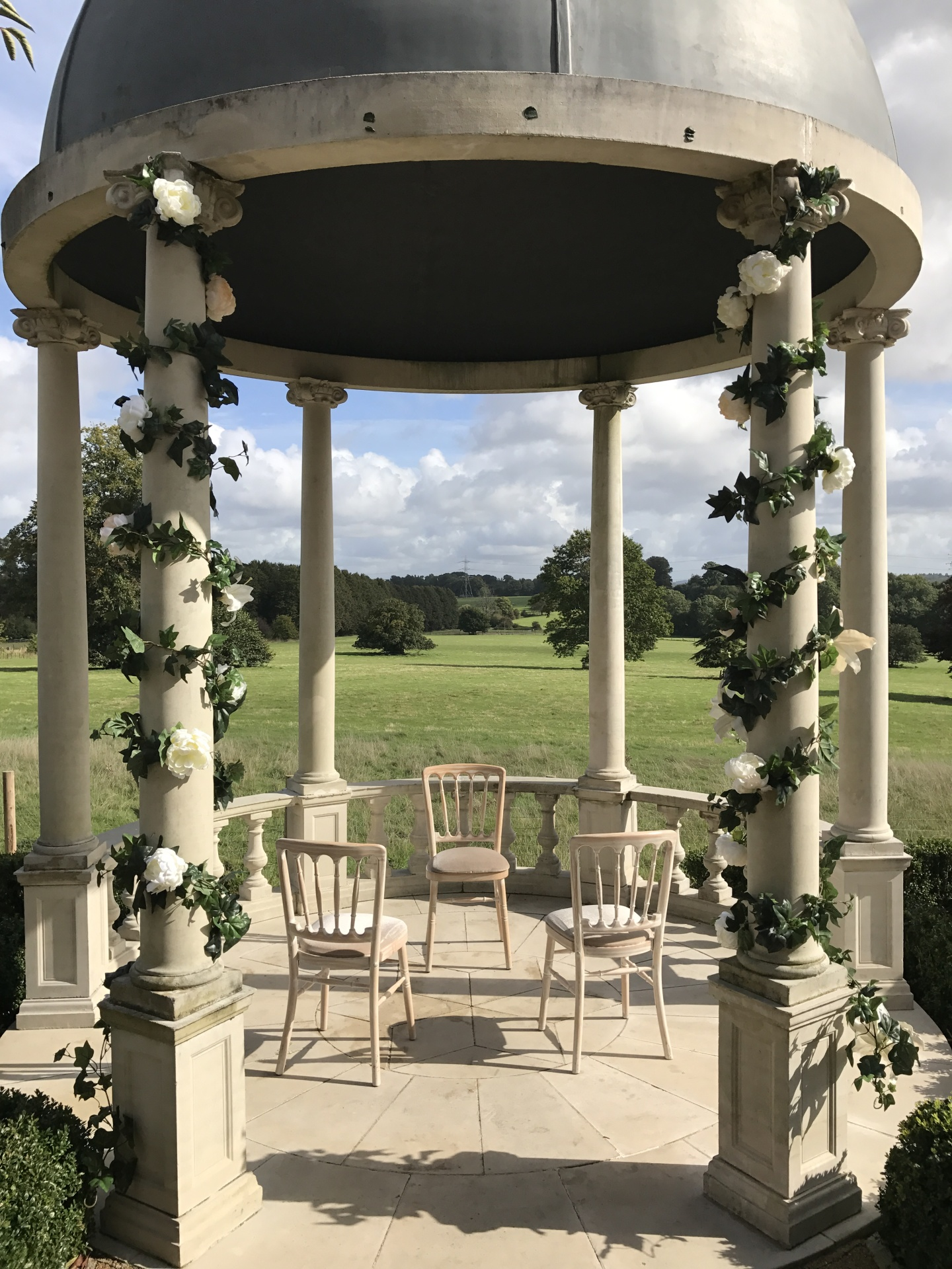 Wedding Flower Design Shilpa Reddy elegant London UK luxury | floral garland| pillar flowers|