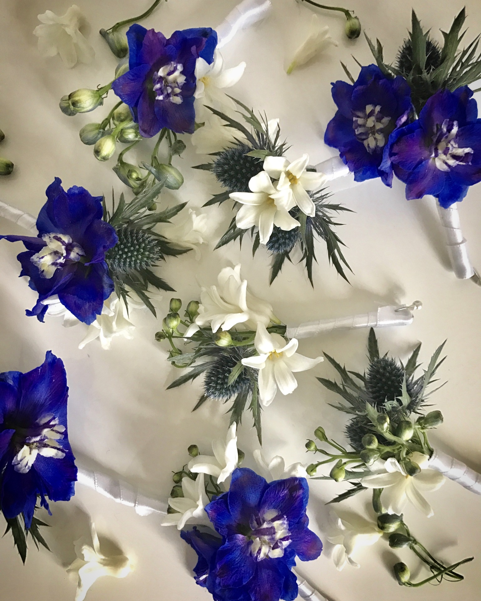 The Petersham buttonholes and corsages