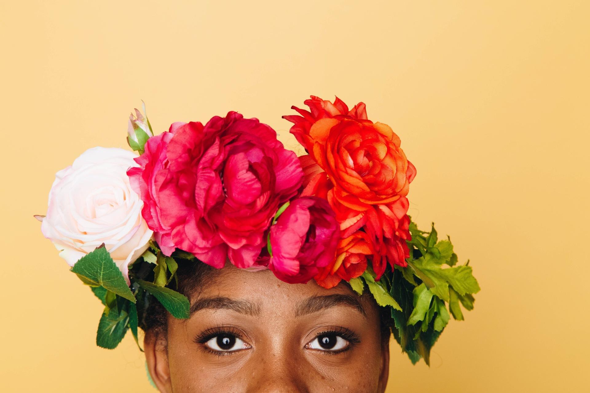 Flower crown | Flower wreath | bridal flowers | bridal crown | bridal wreath | boho bride | boho chic | festival fashion | london flower school
