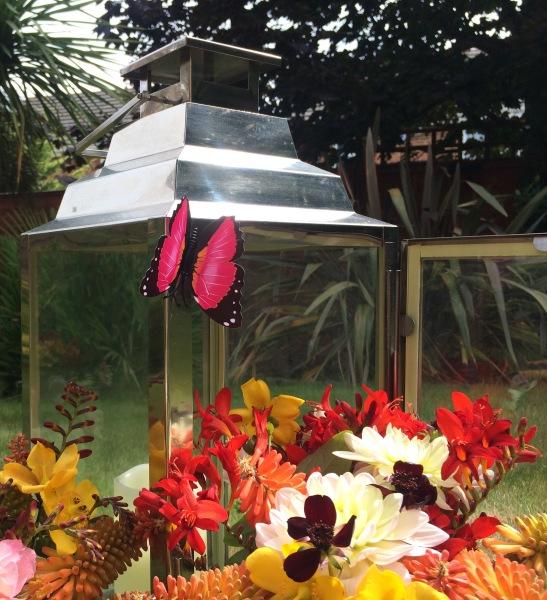 Wedding Flower Design Shilpa Reddy elegant London UK luxury | wedding centrepiece | butterfly centrepiece| butterfly wedding | summer wedding | wedding decor | summer party decor
