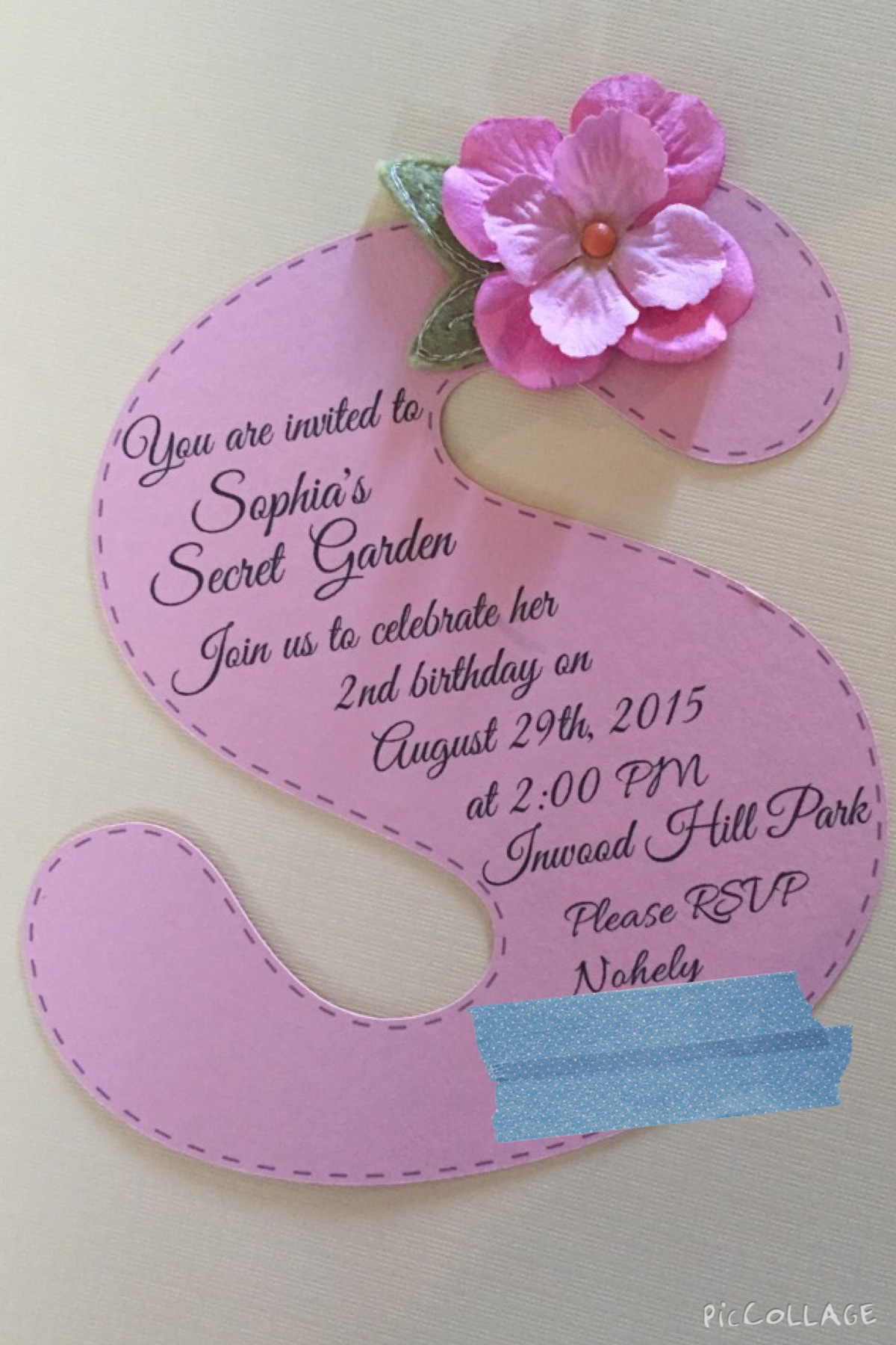 Garden Tea Party Invitations