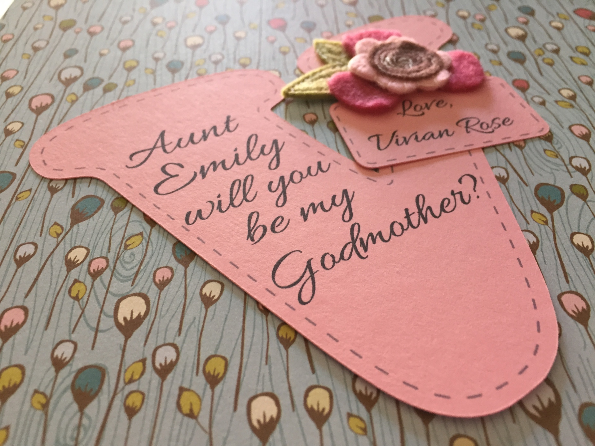 Godmother Card