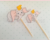 Dumbo Cupcake Toppers