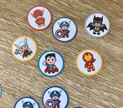 Super Heroes decorations