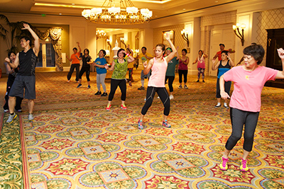 Zumba class at Ultimate Fitness and Bariatric Center of TH