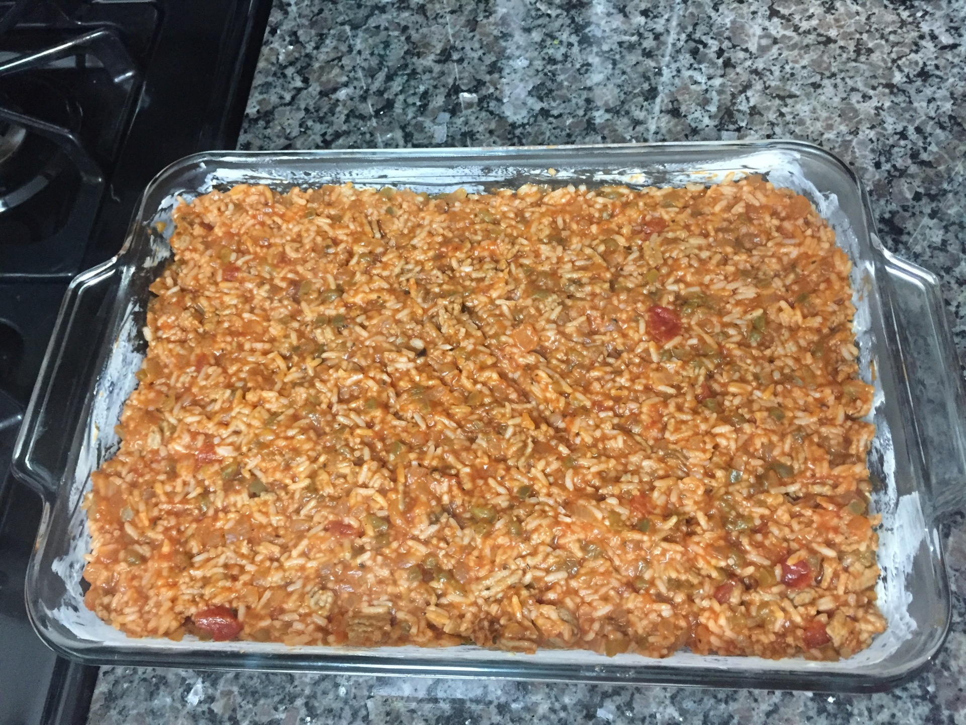 My Beautiful Mess - Unstuffed Pepper Casserole Recipe