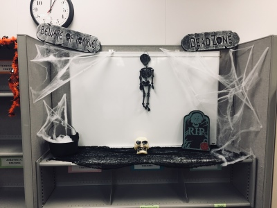 My Beautiful Mess - Office Halloween Decorations
