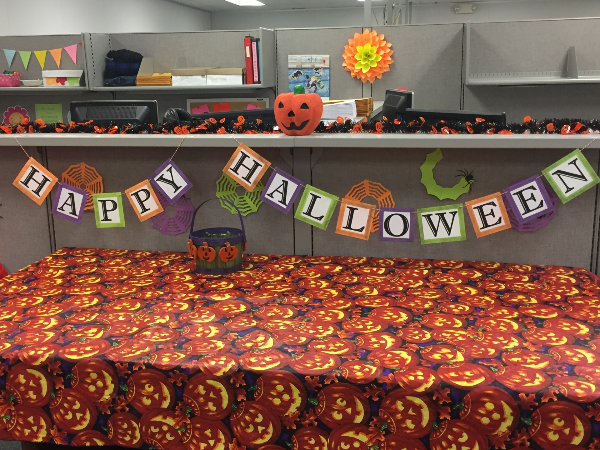 My Beautiful Mess - Happy Halloween Banner