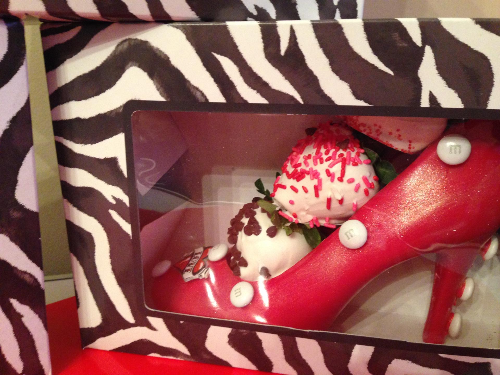 Amazing Chocolate Heel