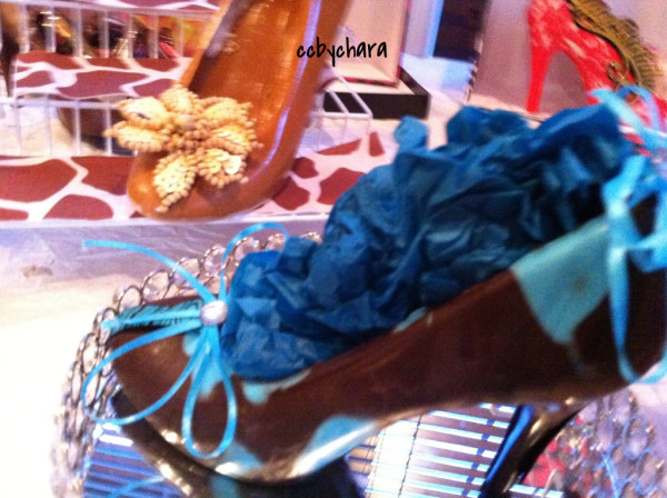 Designer Chocolate/Peanut Butter Heels