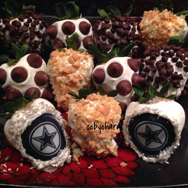 Specialty Football Berries