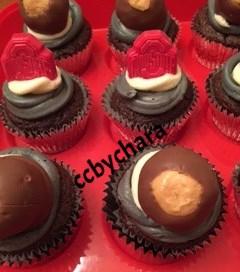 OSU Buckeye Cupcakes