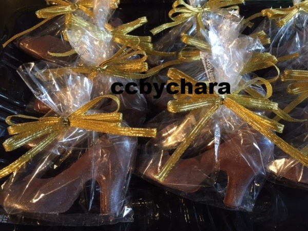 Mini Chocolate Heels