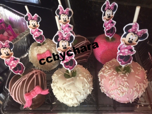 Personalized chocolate apples