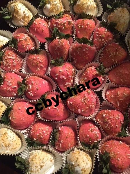 Strawberry Platter