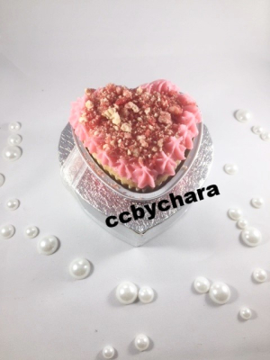 Love's So Sweet (Strawberry Crunch Cupcake)