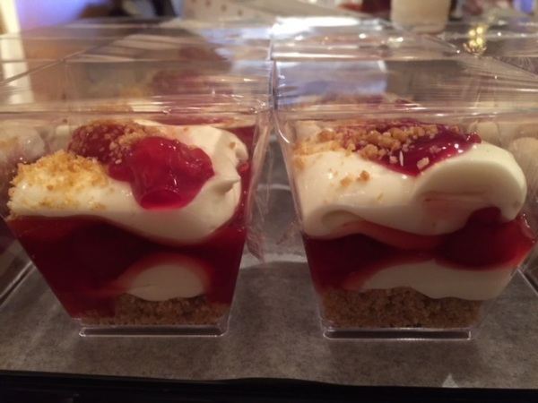 Mini Cheesecake Cups