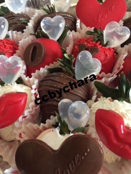 Infused Chocolate Strawberries