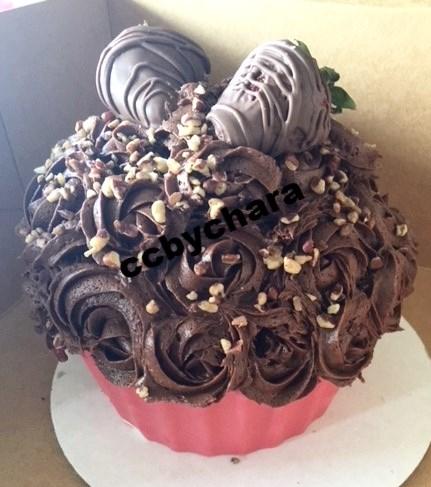 Gianormous Cupcake