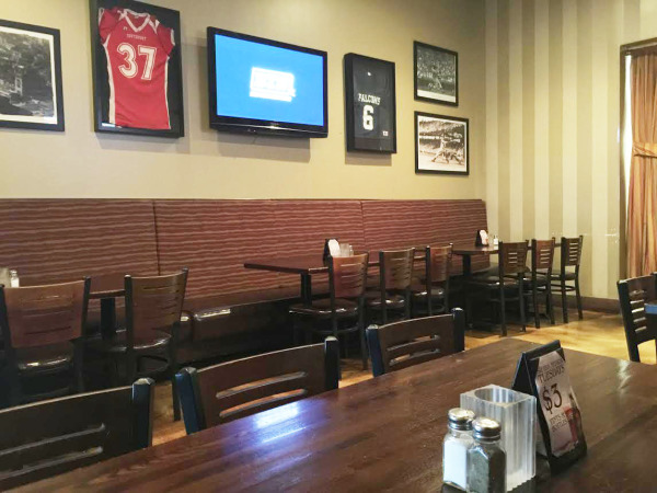 Fireside Brewhouse Party Area