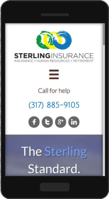 Sterling Insurance Mobile Website