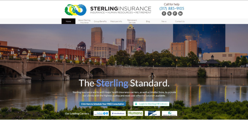 Sterling Insurance Website
