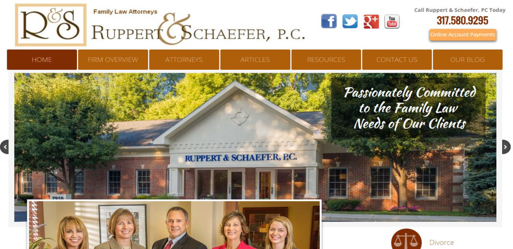 Ruppert & Schaefer PC Website